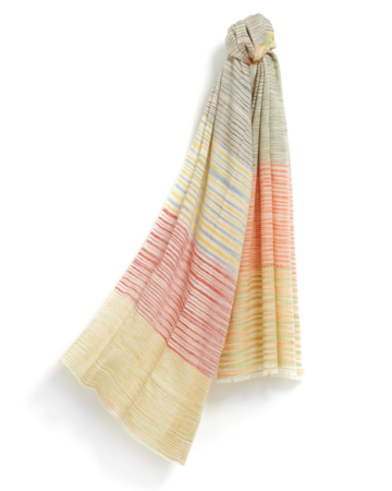 Pashmina Striped Scarves The House of Cashmere